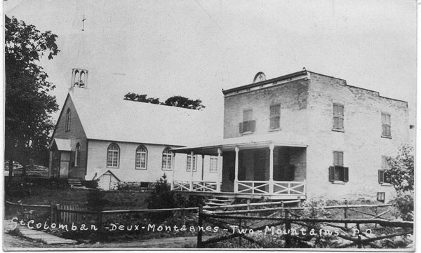 The Church in St. Columban about 1930