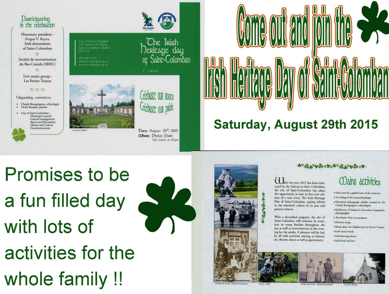 St Columban Combined Poster